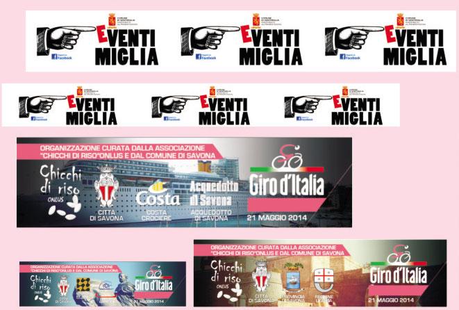 Telo in TNT: teli in tessuto non tessuto, stampa in quadricromia mono per eventi sportivi e manifestazioni.